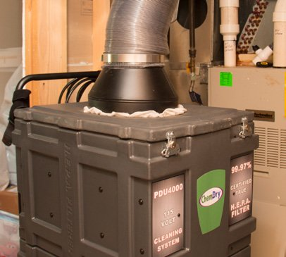 Chem-Dry Air Duct Cleaning Negative Air System